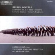 Sym.5, Oboe Concerto, Etc: Ruud / Stavanger.so, Gordon Hunt(Ob)