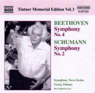 ベートーヴェン:交響曲第4番、シューマン:交響曲第2番 ティントナー