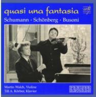 Fantasie / Fantasie: Walch(Vn)korber(P)+busoni: Violin Sonata.2