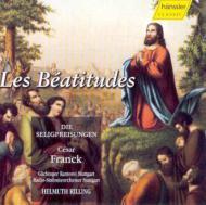 フランク(1822-1890)/Les Beatitudes: Rilling / Stuttgart. rso Montague Danz Kallisch Etc