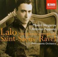 『スペイン交響曲』、『ツィガーヌ』、他 ヴェンゲーロフ、パッパーノ
