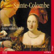 Complete Works For Viola Da Gamba Duo Vol.1: Les Voix Humaines