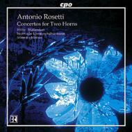 2つのホルンと管弦楽のための協奏曲/他 ヴァーレンドルフ/ウィリス/モエズス/バイエルン室内フィルハーモニー管弦楽団