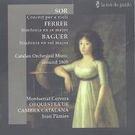 Violin Concerto: Cervera(Vn), Etc +ferrer, Baguer: Sym