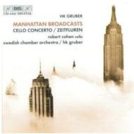 Cello Concerto, Manhattan Broadcasts, Etc: R.cohen(Vc)gruber / Swedish.co