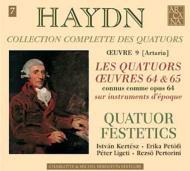 ハイドン(1732-1809)/String Quartet 63 64 65 66 67 68 (Op.64): Festetics Q