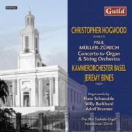 Organ Concerto: Bines(Org)hogwood / Basel.co +etc