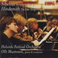 シベリウス:交響曲第3番、ヒンデミット:4つの気質 オッリ・ムストネン&ヘルシンキ祝祭管弦楽団