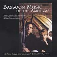 Bassoon Music Of The Americas: Keesecker(Fg)grimaud(P), Etc