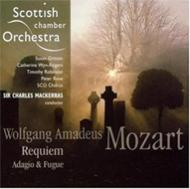 Requiem, Adagio & Fugue : Mackerras / Scottish Chamber Orchestra & Choir, etc