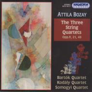 String Quartets.1-3: Bartok.q, Kodaly.sq, Somogyi.sq