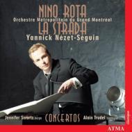 La Strada, Harp, Trombone Concerto: Nezet-seguin / Grand Montreal