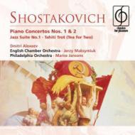 ピアノ協奏曲第1番、第2番、他 アレクセーエフ(p)ジョーンズ(tp)マクシミウク&ECO、他