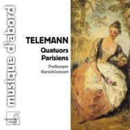 テレマン(1681-1767)/Parisier Quartet 1-6 : Freiburger Barock Consort