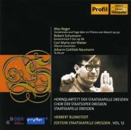 Reger, Schumann, Weber, Naumann: Blomstedt / Skd