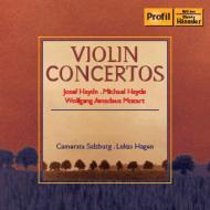 ハイドン、ミヒャエル・ハイドン:ヴァイオリン協奏曲、モーツァルト:アダージョ ルーカス・ハーゲン&カメラータ・ザルツブルク