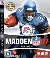 Game Soft (PlayStation 3)/マッデン Nfl 07