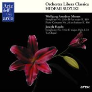 モーツァルト:交響曲第33番、ピアノ協奏曲第20番、第12番、他 鈴木秀美&オーケストラ・リベラ・クラシカ、ホーホランド(2CD)