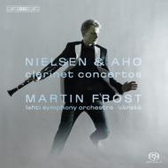 クラリネット協奏曲、他 フレスト(cl)ヴァンスカ&ラハティ交響楽団