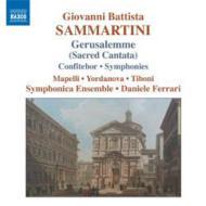 『イェルサレム』、『心を尽くして』、交響曲 フェラーリ&シンフォニカ・アンサンブル