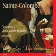 ヴィオール二重奏のための作品全集第4集 レ・ヴォア・ユメーア