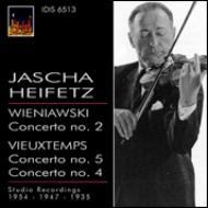ヴァイオリン協奏曲第4番、第5番、他 ハイフェッツ(vn)サージェント&LSO、他