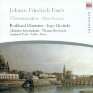 Oboe Sonatas: Glaetzner Goritzki(Ob)S.pank(Gamb)Schornsheim
