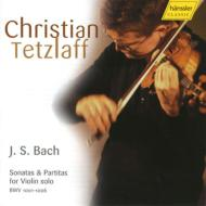 バッハ(1685-1750)/Sonatas & Partitas For Solo Violin: Tetzlaff (2005)