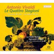ヴィヴァルディ(1678-1741)/Four Seasons: S.kuijken(Vc Da Spalla) / La Petite Bande (Hyb)