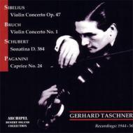 ヴァイオリン協奏曲、他 タシュナー(vn)サンドベルイ&ケルン放送交響楽団、他