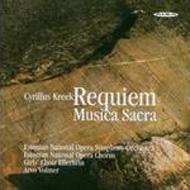 Requiem, Musica Sacra: Volmer / Estonian National Opera So & Cho Etc