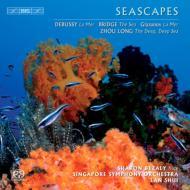ドビュッシー:『海』、グラズノフ:『海』、他 シュイ&シンガポール響、ベザリー(fl)