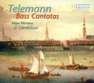 テレマン(1681-1767)/Cantatas For Bass: Mertens(B) Il Gardellino Etc