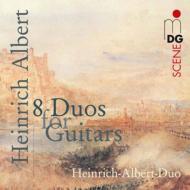 8つのギター・デュオ ハインリヒ・アルベルト・デュオ