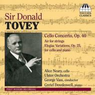 Cello Concerto, Etc: Neary(Vc)Vass / Ulster O Etc