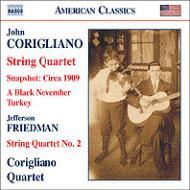 弦楽四重奏曲第1番、ブラック・ノヴェンバー・ターキー、他 コリリアーノ四重奏団