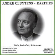 バッハ:ヴァイオリン協奏曲、プロコフィエフ:ヴァイオリン協奏曲第2番、他 クリュイタンス指揮、マルツィ、レビン(vn)、他