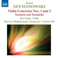 ヴァイオリン協奏曲第1番、第2番、他 カーラー(vn)ヴィト&ワルシャワ国立フィル
