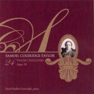 24の黒人の旋律集 シェーファー=ゴットシャルク(ピアノ)(2CD)