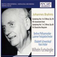 交響曲第4番(1948年10月22日)、他 フルトヴェングラー&ベルリン・フィル、他(2CD)