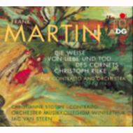 旗手クリストフ・リルケの愛と死の歌 ストテイン(メゾ・ソプラノ)ヴァン・ステーン&ヴィンタートゥール・ムジークコレギウム管弦楽団