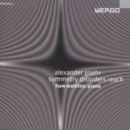 『対称的な無秩序が到達するもの』 ワトキンス(ピアノ)