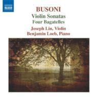 ヴァイオリン・ソナタ第1番、第2番、他 ジョセフ・リン(ヴァイオリン)ローブ(ピアノ)
