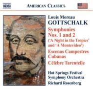 管弦楽曲全集(交響曲第1番、第2番、他) ローゼンバーグ&ホット・スプリングス音楽祭交響楽団