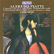 アルフレード・ピアッティ(1822−1901):無伴奏チェロのための奇想曲/アンドレア・ノフェリーニ