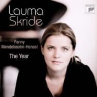 組曲『12ヶ月』 ラウマ・スクリデ(ピアノ)