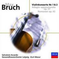 ヴァイオリン協奏曲第1番、第2番、他 アッカルド(ヴァイオリン)マズア&ゲヴァントハウス管弦楽団