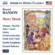 歌劇『メリー・マウント』 シュウォーツ&シアトル交響楽団、フラニガン(2CD)