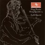 String Quartet.1, 2, 3, 4: Euclid Q