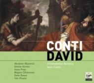オラトリオ『ダーヴィット』全曲 カーティス&イル・コンプレッソ・バロッコ(2CD)
